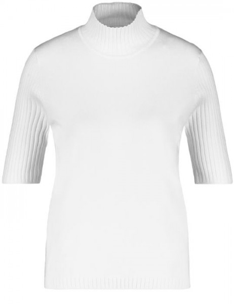 Gerry Weber Turtle Pullover Offwhite 97612-35711