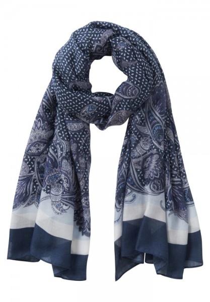 Betty & Co Shawl Marine 3007-9209
