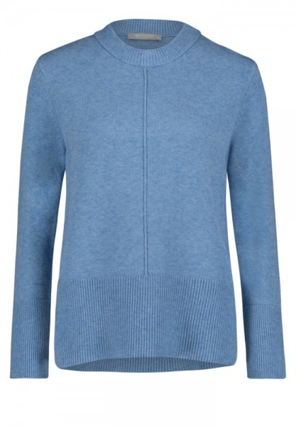 Betty & Co Pullover Jeansblauw 5168-3698