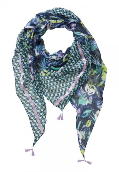 Betty Barclay Shawl Marine 3013-1402