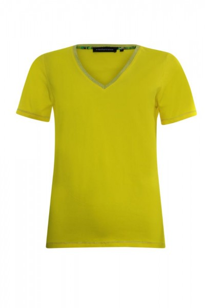 Another Woman Shirt Geel 012316
