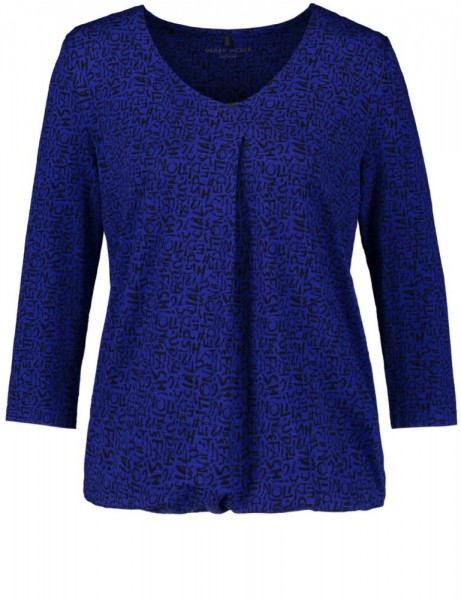 Gerry Weber Shirt Kobalt 170151-44010