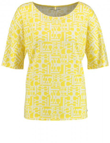 Gerry Weber Shirt Geel 97487-44112 4098