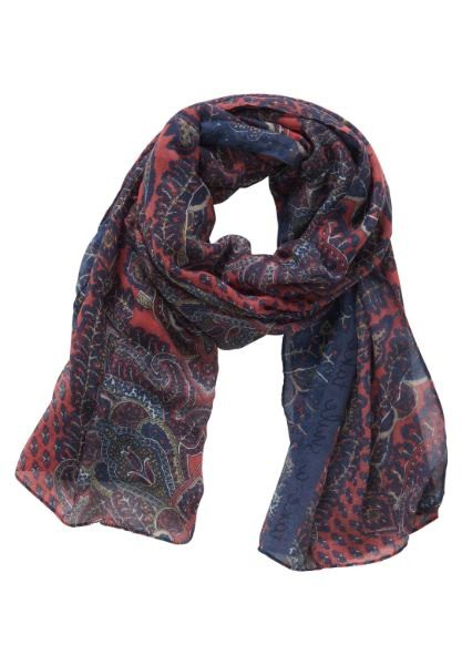 Betty & Co Shawl Blauw 3780-3114
