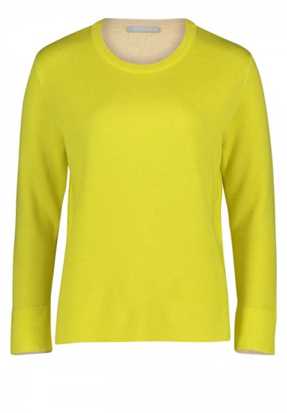 Betty & Co Pullover Geel 5201-3785