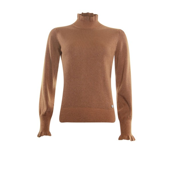 Another Woman Pullover Camel 132201