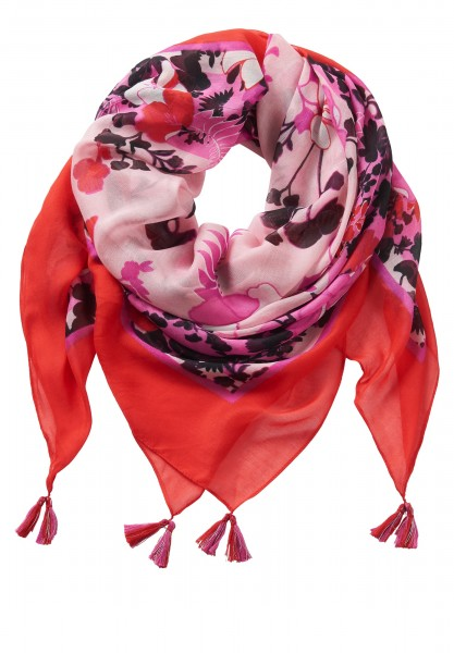 Betty Barclay Shawl Rood/Roze 4015-2265 4825