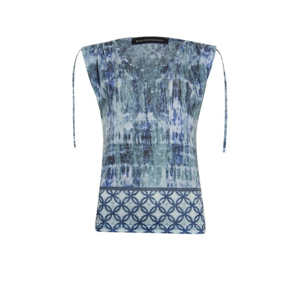 Another Woman Shirt Blauw 112102