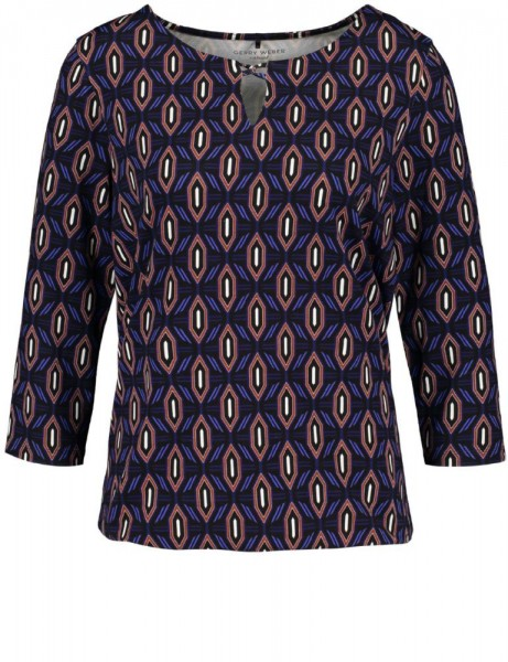 Gerry Weber Shirt Zwart 170154-44115