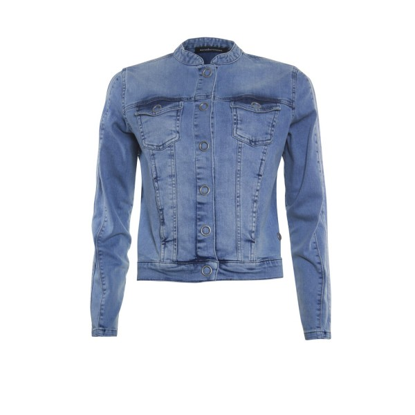 Another Woman Jeansjack Jeansblauw 112100